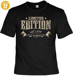 Limited Edition seit 1976 : das ultimative Geburtstags-Jahrgangs-Shirt Fun-Shirt - geniales Geschenk (*Partner-Link)