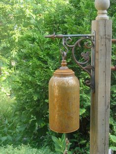beautiful outdoor bell on etsy I found.