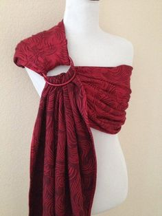 Wrap Conversion Ring Sling Baby Carrier Woven Jacquard by Bibetts