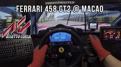 Ferrari 458 Gt2 @ Macao (Onboard-GoPro) - Assetto Corsa.  No os lo podéis perder. Magistral. Nos trasmite a nosotros sensaciones tan reales que parece que nosotros tambien estemos dentro de su (CocKPit) fantástico y sublime.