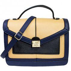 Rose structured colorblock satchel   Discount Handbags & Purses   Handbag Heaven #handbagheaven