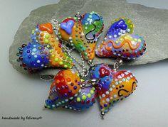 Enamel - cool beads
