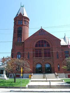 Southbridge Town Hall on Elm Street (1888), added to the National Register of Historic Places in 1987