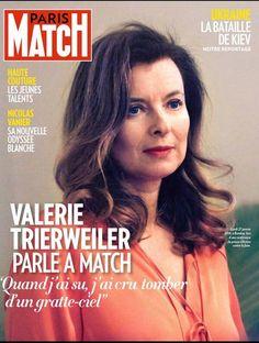 """Valérie Trierweiler à """"Match"""" : """"Quand j'ai su, j'ai cru tomber d'un gratte-ciel"""" - Le Point"""