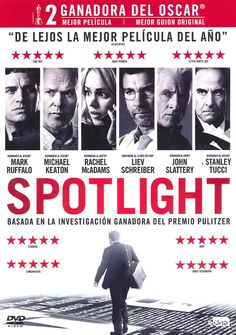 DESEMBRE-2016. Sptlight. DVD ANGLÈS 375