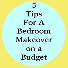 5 Tips for a Master Bedroom Makeover on a Budget #DIY #home