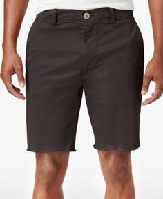 American Rag Men's Stretch Chino Shorts, Created for Macy's - Brown 34