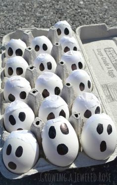 Smoking BOO bombs- a super fun Halloween activity!  Kids love tossing these at the pavement to create a ghostly smoke show (these are easy to make and cost next to nothing to put together)