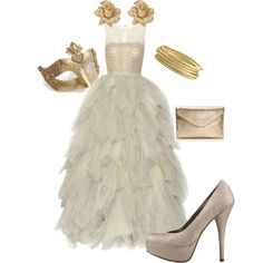 Masqurade!, created by kmedors23 on Polyvore