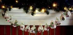 this sweet advent banner was submitted by Contributor and Social and Advertising director Christina Colon`