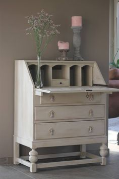 Secretaire Painted with @Linda Bruinenberg Bruinenberg Bruinenberg Bruinenberg Strickland the Past
