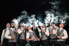 18 Things Your Groom is Definitely Doing While You're Getting Ready - Cigar   CHWV
