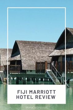 Wondering where to stay in Fiji? My review of the Fiji Mariott Momi Bay Resort will tell you why it is the best hotel in Fiji! This overwater bungalow villa resort is located on the island of Viti Levu & close to one of the most beautiful beaches in the world located in Nadi! This island resort is perfect for a Fiji honeymoon or vacation/holiday, and absolutely belongs on your Fiji itinerary. In this review you'll also find a link to my Fiji travel guide and lots of beautiful Fiji photos