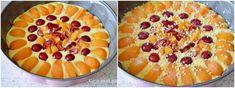 Prajitura cu caise si cirese - Retete Timea Acai Bowl, Pie, Breakfast, Desserts, Food, Acai Berry Bowl, Torte, Morning Coffee, Tailgate Desserts