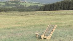 Lounge Chair  Great for sitting at a campfire relaxing in