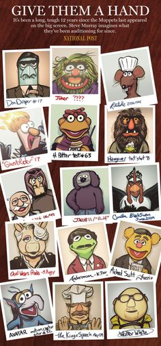 Go muppets!