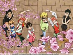 Ouran High School Host Club - cutest anime I have ever seen <3 and best ever! The manga is way better than the anime though.