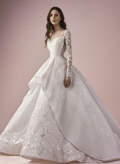 Featured Dress: Saiid Kobeisy; Wedding dress idea.
