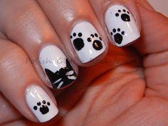 Polish. Glitter. Rock & Roll!: Black Cat Appreciation Day!