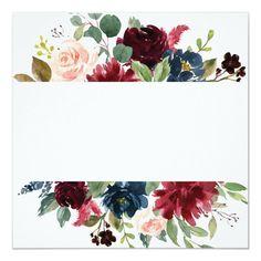Wedding Invitation Background, Wedding Invitation Wording, Floral Invitation, Floral Wedding Invitations, Watercolor Wedding, Watercolor Flowers, Website Design, Wedding Art, Formal Wedding