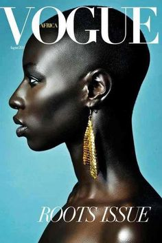/pinterest @friaaurora Vogue cover love this. Highlights look metallic contours almost black
