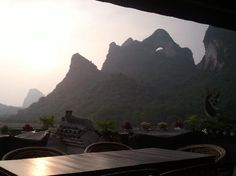 Luna Cafe, Yangshuo County, Vietnam - beautiful!
