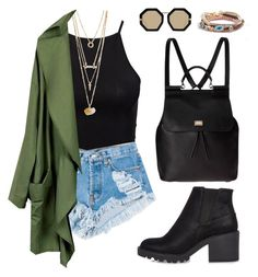 black & green by nerazahra on Polyvore featuring polyvore fashion style NLY Trend River Island Dolce&Gabbana American Eagle Outfitters Karen Walker Levi's clothing