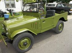 """'52 Alfa Romeo 1900M  Matta ... said to """"one of only 85 known to exist... Just over 2,100 Mattas were built for the Italian military and civilian sale in the early 1950's before the type was replaced with a simpler Fiat design."""""""