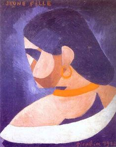 Francis Picabia ~ Young Girl, 1912 (oil on canvas)