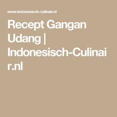 Recept Gangan Udang | Indonesisch-Culinair.nl