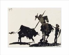 Pablo Picasso - The Bullfight