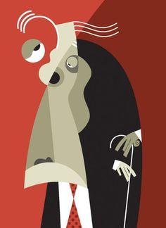 Borges by Pablo Lobato