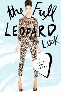 SHOP THE FULL LEOPARD LOOK!
