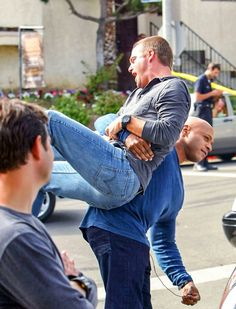 From Twitter. Ncis LA.>>>>>I absolutely love ncisla chris odonnell and llcoolj I watch every episode and I listen to ll and his songs so pardon my language, but what the hell is happening?