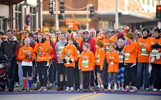 The Turkey Trot offers a five mile run, two mile walk, and a two mile Dog Jog. Attendees enjoy the upbeat music, high quality long-sleeved t-shirts and free Festival Foods pumpkin pies. The Dog Jog will start at the back of the 2 mile event. This event benefits the local YMCA and Boys & Girls Club.