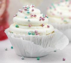 Receitinhas & Afins: Cupcake de espumante para Reveillon