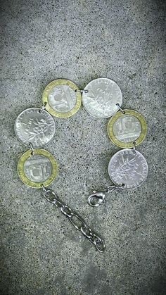 Vintage FRENCH FRANCE Francs 19601990's Egalite Rare by bleustuff1, $11.99