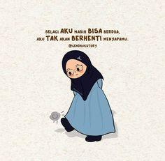 Hadith Quotes, Muslim Quotes, Islamic Quotes, Cute Cartoon Quotes, Islamic Cartoon, Cute Muslim Couples, Religion Quotes, Anime Muslim, Hijab Cartoon