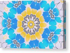 01263 Canvas Print featuring the digital art 01263 by Aileen Griffin