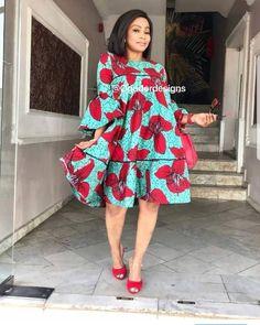 Short African Dresses, Short Gowns, Latest African Fashion Dresses, African Print Dresses, African Print Fashion, African Traditional Dresses, Traditional Outfits, African Print Dress Designs, Casual Dresses Plus Size