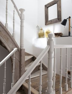 Peindre Un Escalier En Bois Maison Pinterest Un