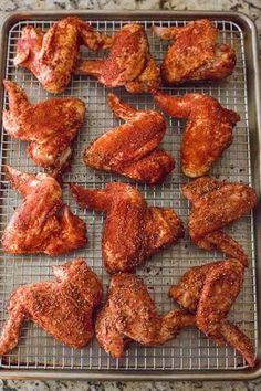 Oven Fried Chicken Wings, Smoked Chicken Wings, Super Bowl Party, Buffalo Wings, Chicken Wing Recipes, Chicke Recipes, Chicken Ideas, Bbq, Fries In The Oven