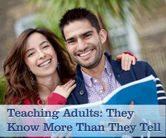 Teaching ESL to Adults: They Know More Than They Tell