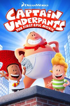 Rent Captain Underpants: The First Epic Movie and other new DVD releases and Blu-ray Discs from your nearest Redbox location. Or reserve your copy of Captain Underpants: The First Epic Movie online and grab it later. Captain Underpants, Bon Film, Film D'animation, Kevin Hart, Epic Movie, Movie Tv, Jack Movie, Hero Movie, George Clooney