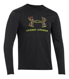 46b2b1f9b Under Armour Camo Fill Logo T-Shirt for Men - Long Sleeve