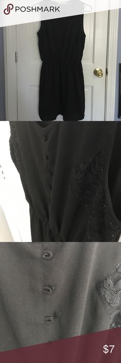 💛 2 for $10 💛 LITTLE BLACK DRESS MY CLOSET FELL DOWN LAST NIGHT BECAUSE I HAVE TOO MANY CLOTHES - MUST SELL! Cute professional looking black dress. Missing buttons, not noticeable. Sides have lace inlay. Chloe K Dresses Mini