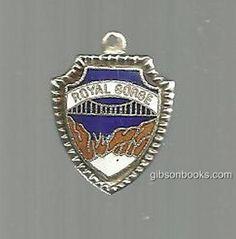Vintage Souvenir Shield Charm From Royal Gorge Bridge, Colorado