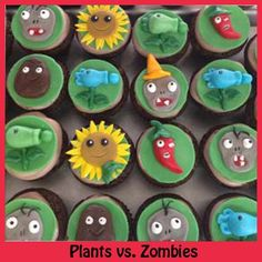 Plants Vs. Zombies  Great Decorating Tips and tutorials here.