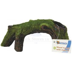 Aquarium-Fish-Tank-Moss-Ornaments-Drift-Wood-Log-Tunnel-Rock-Decoration-Feature