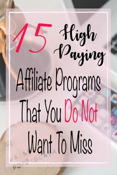 A list of high paying affiliate programs that you can join to boost your blog income. With these programs, your commission rates can be as high as 30%-200%!
